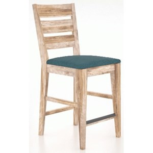 Customizable Ladder Back Stool