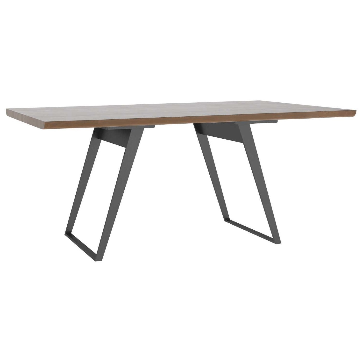 East Side Customizable Live Edge Table by Canadel at Dinette Depot