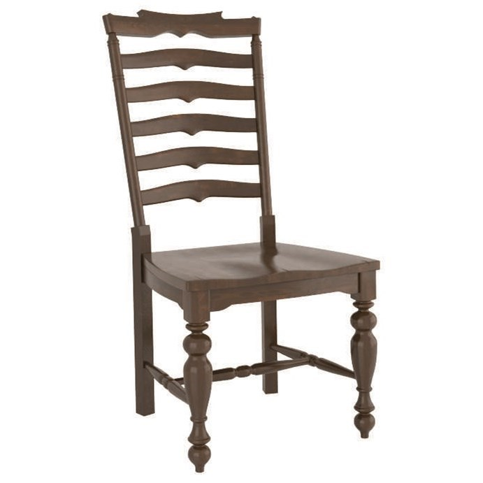 Farmhouse Customizable Dining Side Chair by Canadel at Williams & Kay
