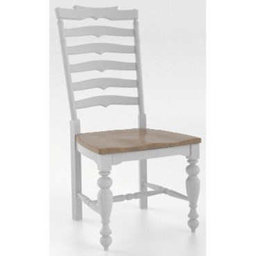 Farmhouse Customizable Dining Side Chair by Canadel at Dinette Depot