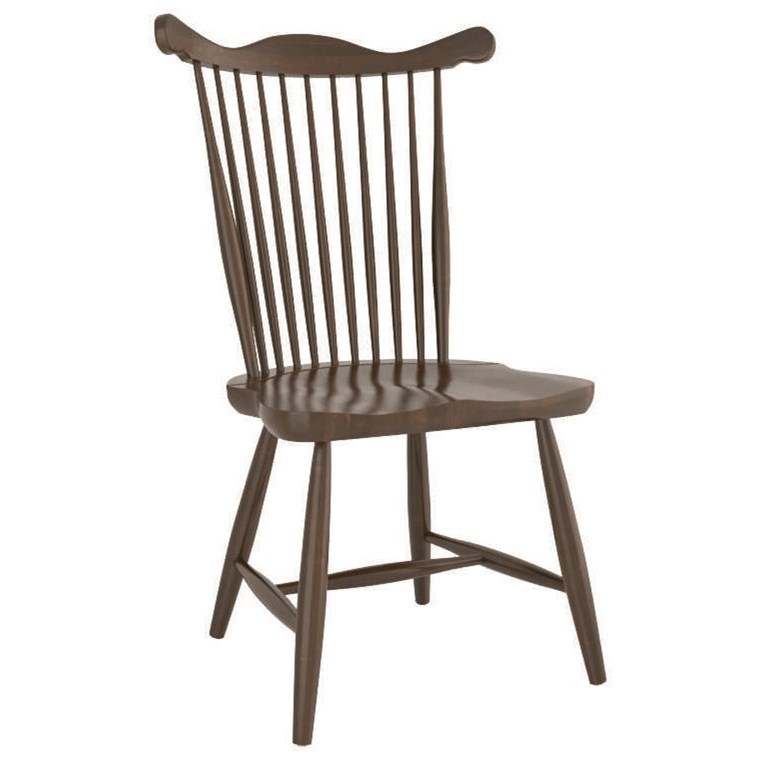 Farmhouse Customizable Side Chair by Canadel at Dinette Depot