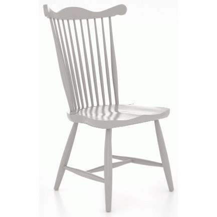 Farmhouse Customizable Side Chair by Canadel at Gill Brothers Furniture