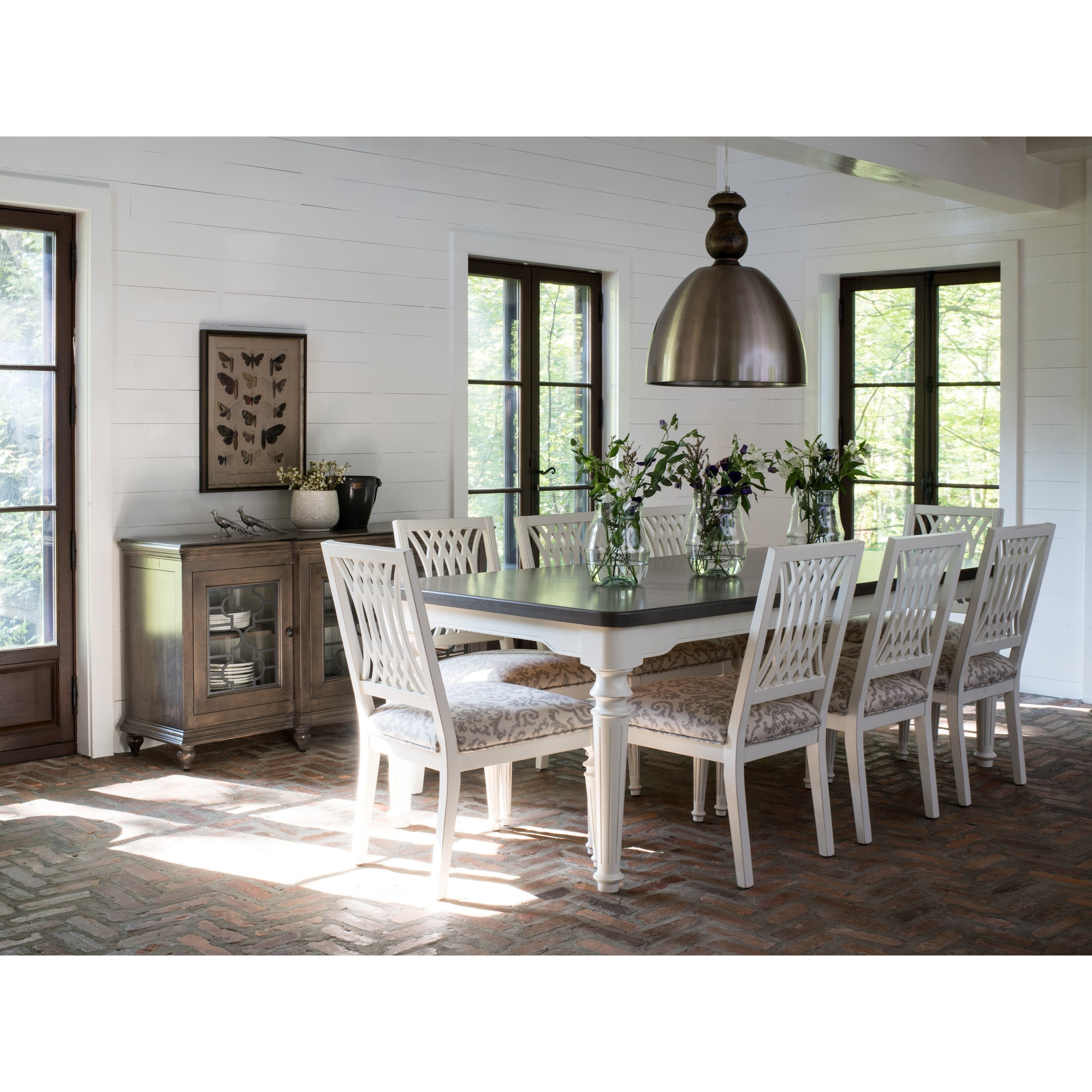 Farmhouse Dining Room Group by Canadel at Steger's Furniture