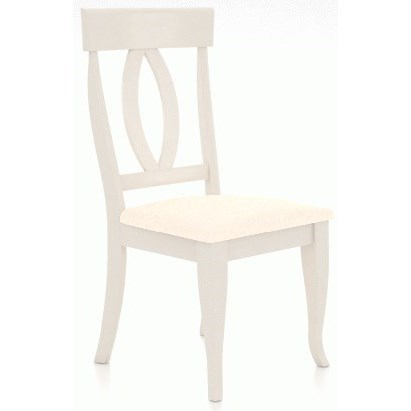 Gourmet - Custom Dining Customizable Dining Side Chair by Canadel at Steger's Furniture