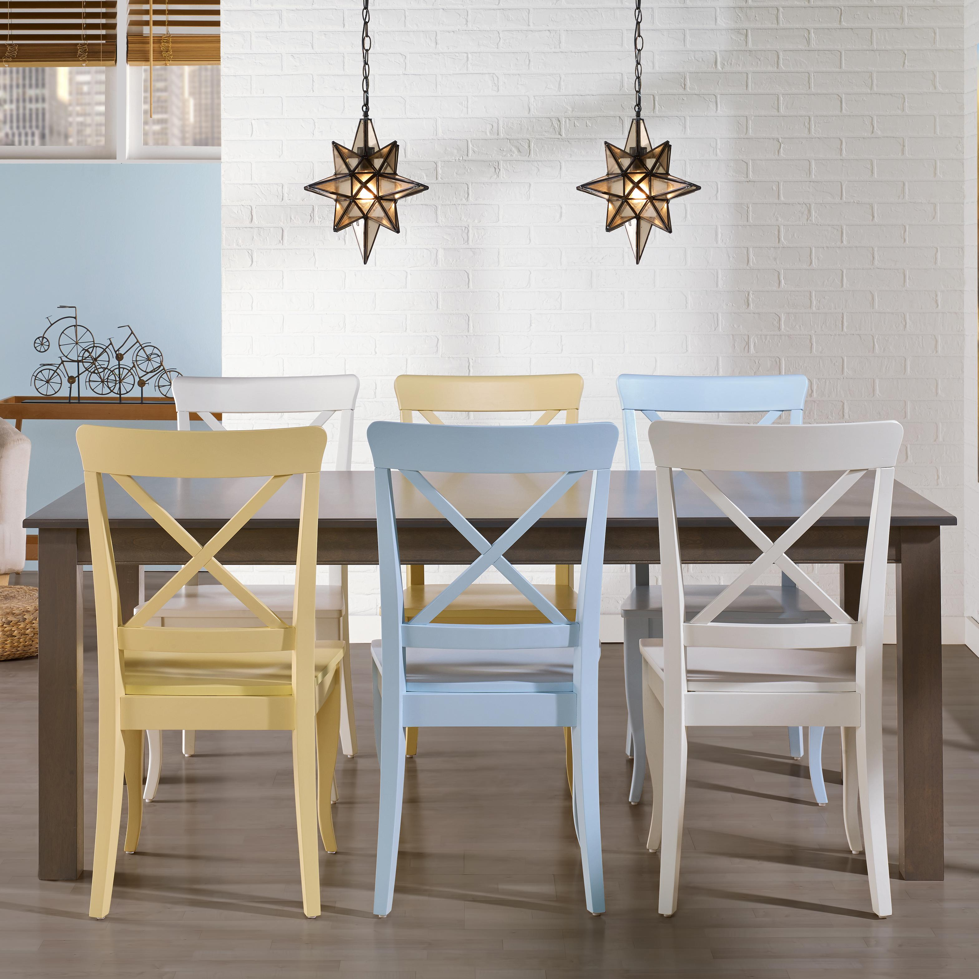 Gourmet - Custom Dining <b>Customizable</b> Rectangular Table by Canadel at Dinette Depot