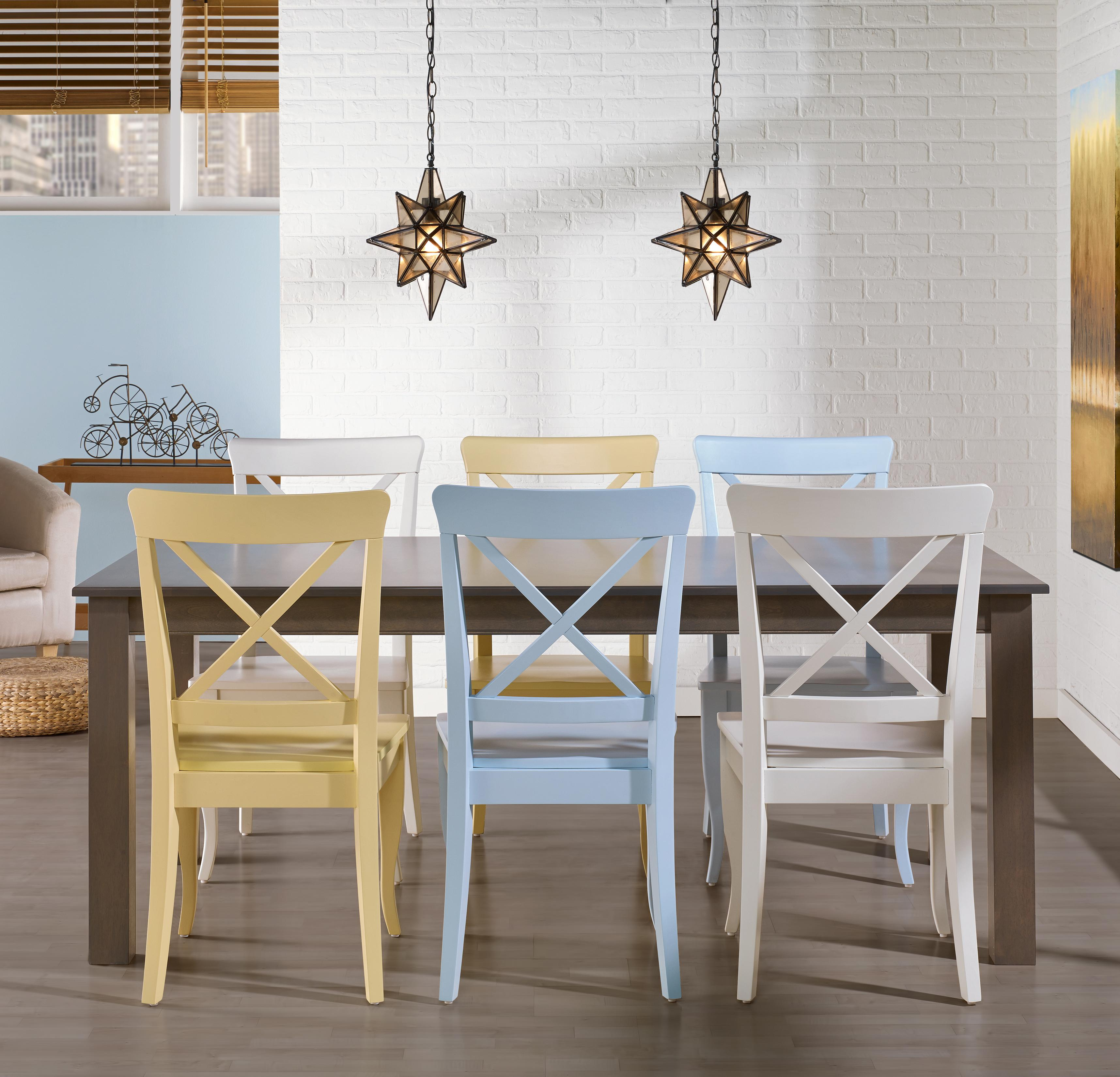 Gourmet - Custom Dining <b>Customizable</b> Rectangular Table Set by Canadel at Dinette Depot