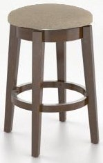 "Gourmet Customizable 26"" Swivel Stool by Canadel at Bennett's Furniture and Mattresses"