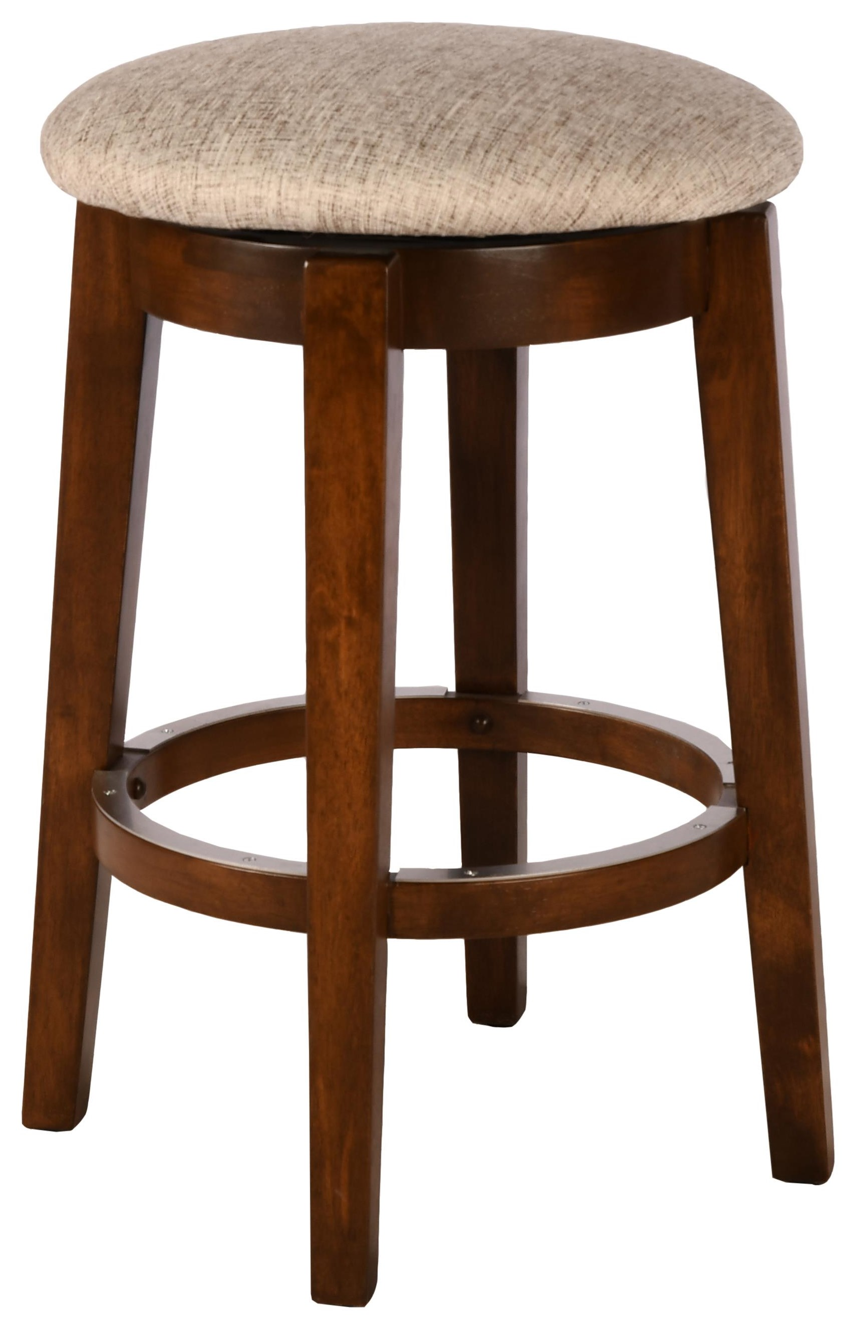 """Gourmet Customizable 26"""" Swivel Stool by Canadel at Bennett's Furniture and Mattresses"""