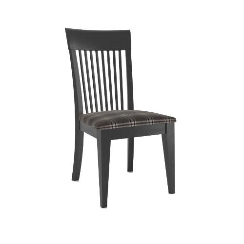 Gourmet Customizable Side Chair by Canadel at Jordan's Home Furnishings