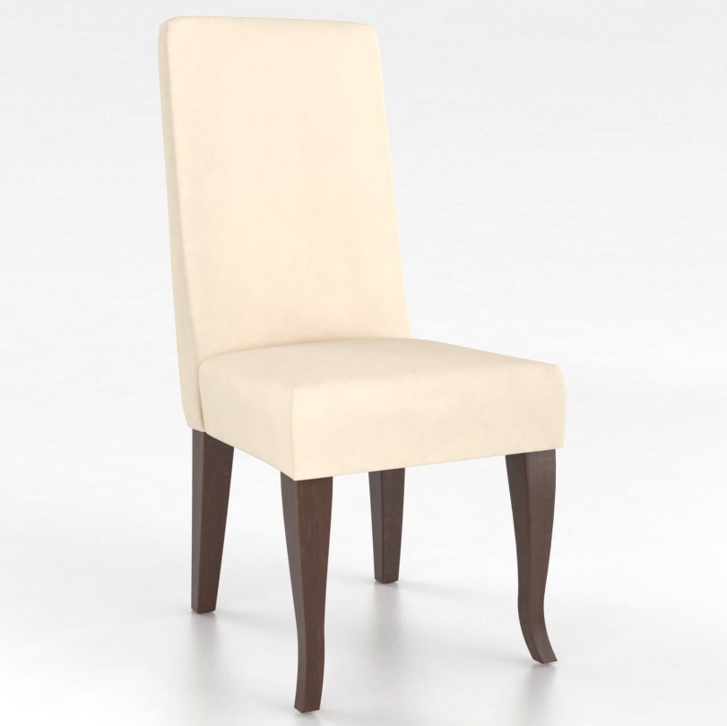 Gourmet Customizable Petite Upholstered Side Chair by Canadel at Dinette Depot