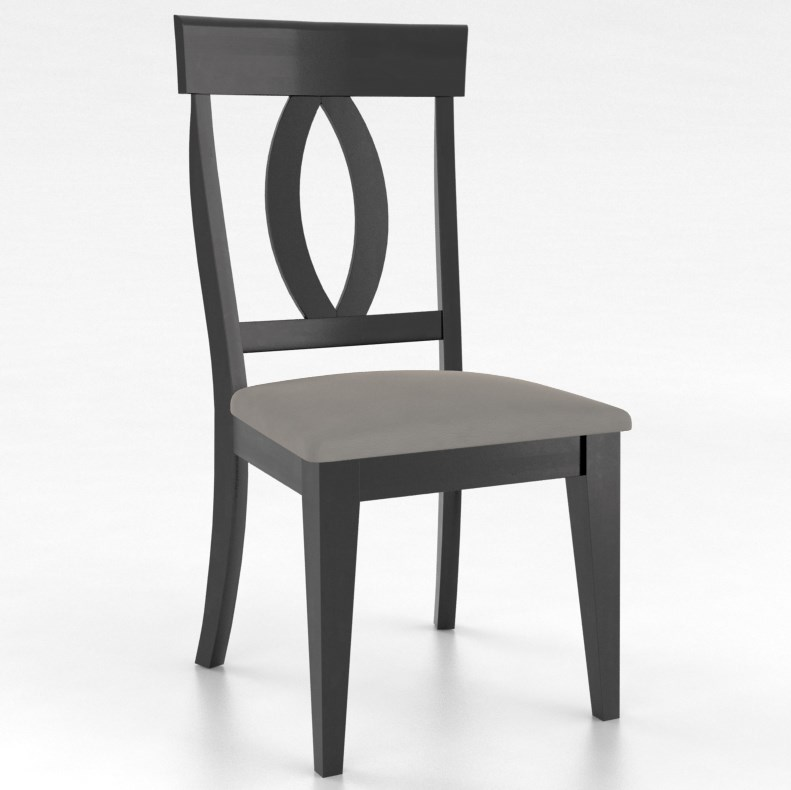 Gourmet Customizable Petite Side Chair by Canadel at Dinette Depot