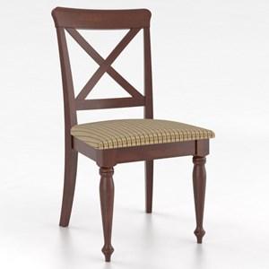 Customizable Petite X-Back Side Chair