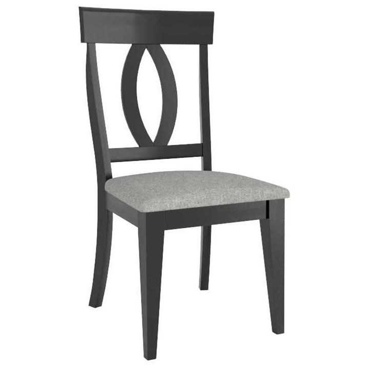 Gourmet Customizable Side Chair by Canadel at Dinette Depot