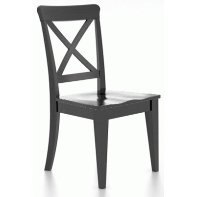 Gourmet Customizable Side Chair by Canadel at Zak's Home