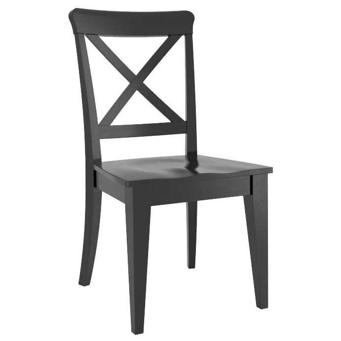 Gourmet Customizable Side Chair by Canadel at Home Collections Furniture