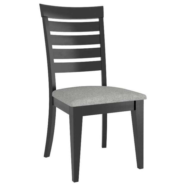 Gourmet Customizable Dining Side Chair by Canadel at Home Collections Furniture