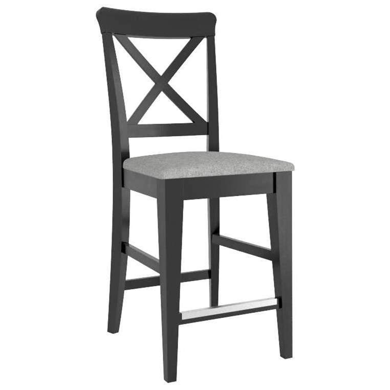 """Gourmet Customizable 26"""" Fixed Stool by Canadel at Dinette Depot"""