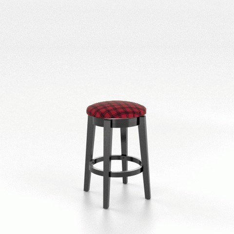 "Gourmet Customizable 26"" Swivel Stool by Canadel at Steger's Furniture"