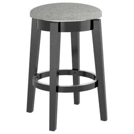 """Gourmet Customizable 26"""" Swivel Stool by Canadel at Dinette Depot"""
