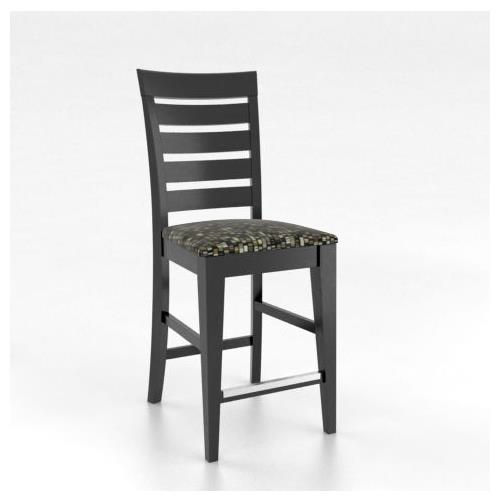 """Gourmet <b>Customizable</b> 26"""" Fixed Stool by Canadel at Dinette Depot"""