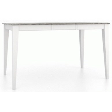 Gourmet Customizable Rect. Counter Table w/ Leaf by Canadel at Furniture and ApplianceMart
