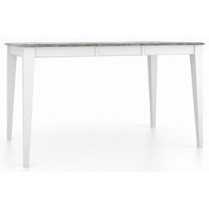 Customizable Rect. Counter Table w/ Leaf
