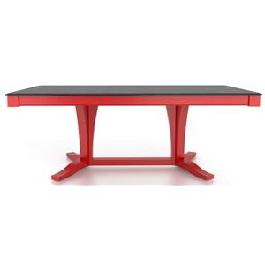 Canadel Gourmet <b>Customizable</b> Rect. Table w/ Pedestal
