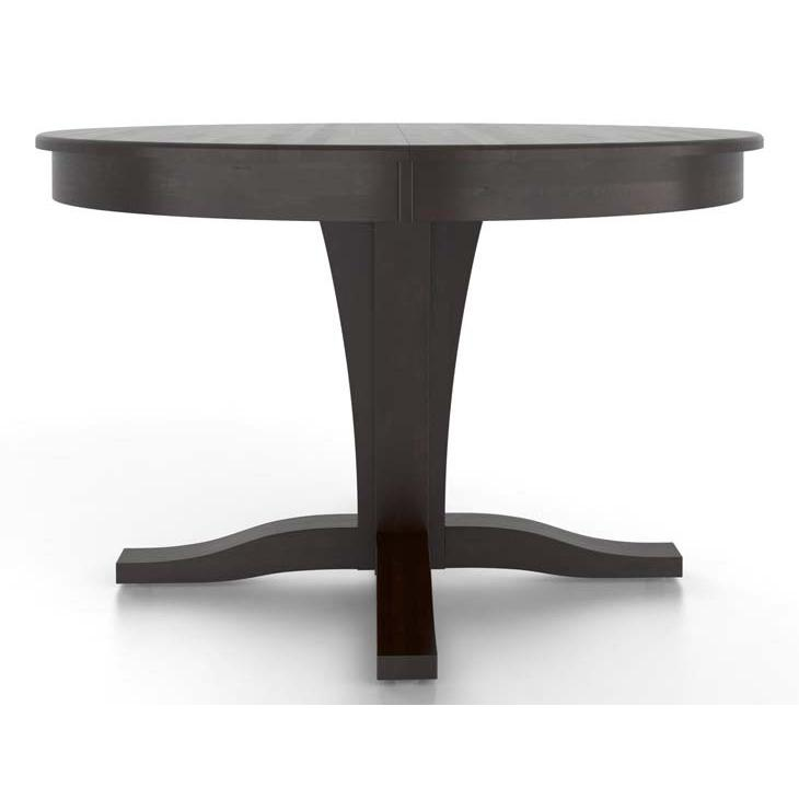 Gourmet <b>Customizable</b> Round Table w/ Pedestal by Canadel at Dinette Depot