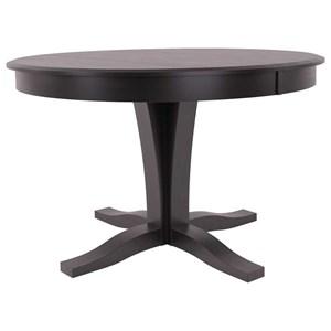 Customizable Round Table w/ Pedestal