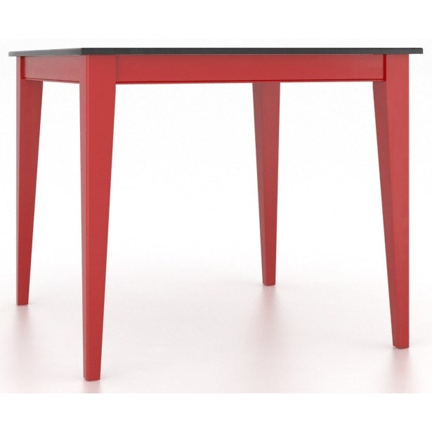 Gourmet Customizable Square Counter Table by Canadel at Dinette Depot