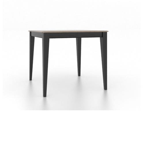 Gourmet <b>Customizable</b> Square Counter Table by Canadel at Williams & Kay