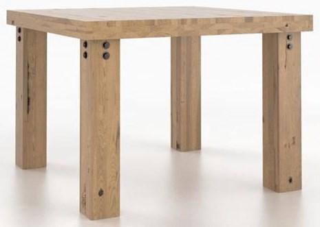 Loft Rustic Loft Wood Table by Canadel at Sprintz Furniture