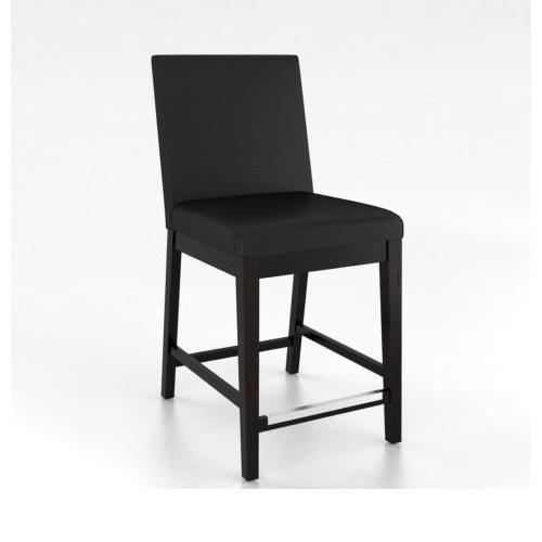 """Loft - Custom Dining Customizable 24"""" Fixed Stool by Canadel at Dinette Depot"""