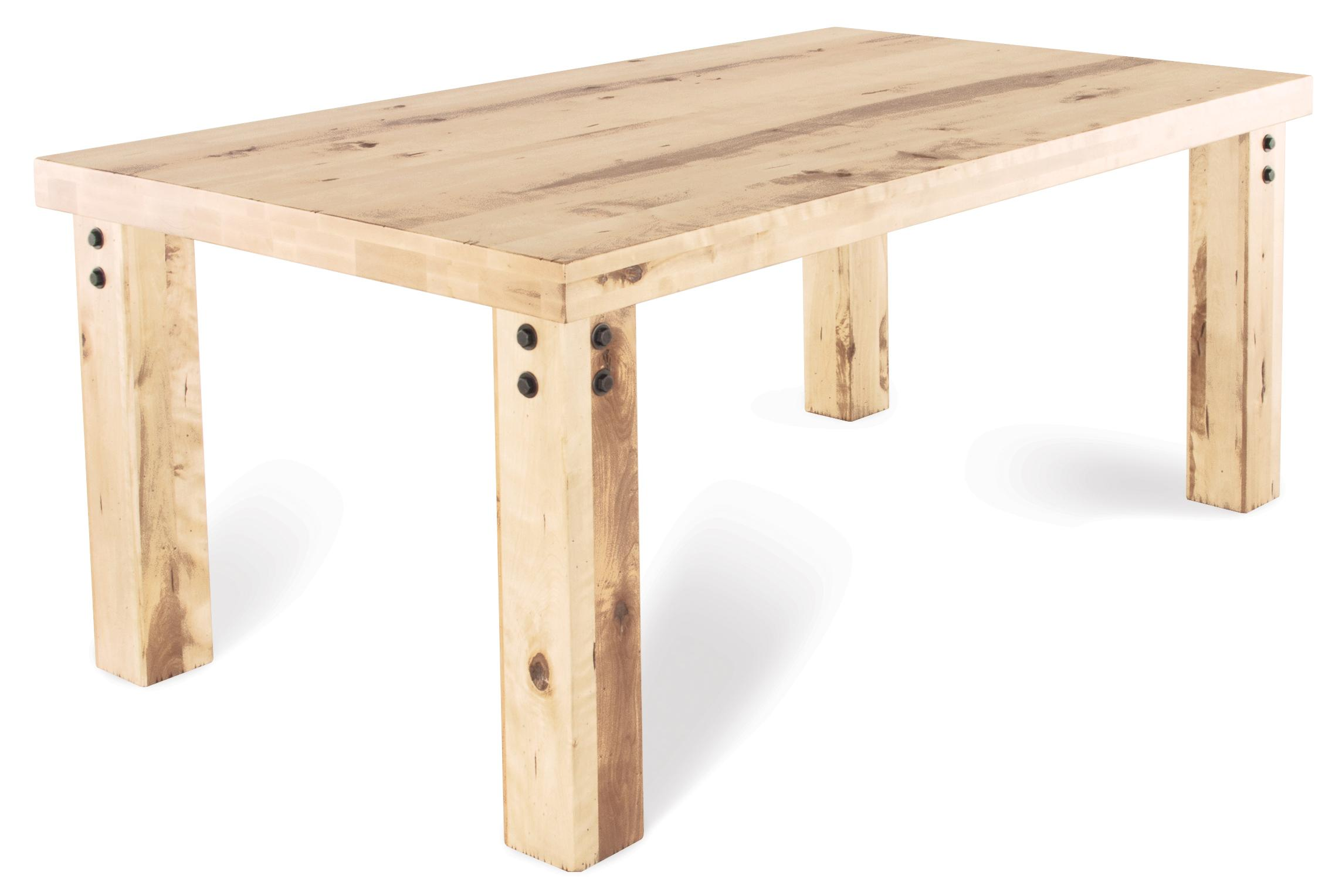 Loft - Custom Dining Customizable Rectangular Table by Canadel at Saugerties Furniture Mart