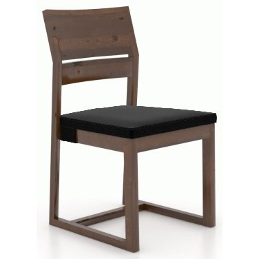 Loft - Custom Dining Customizable Side Chair by Canadel at Saugerties Furniture Mart