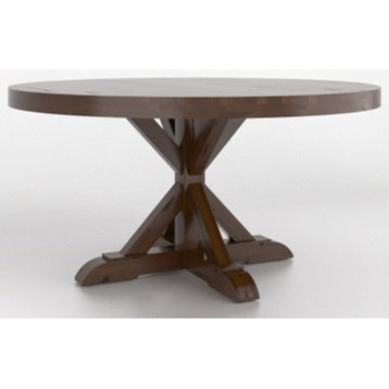 Loft - Custom Dining Customizable Dining Table by Canadel at Dinette Depot