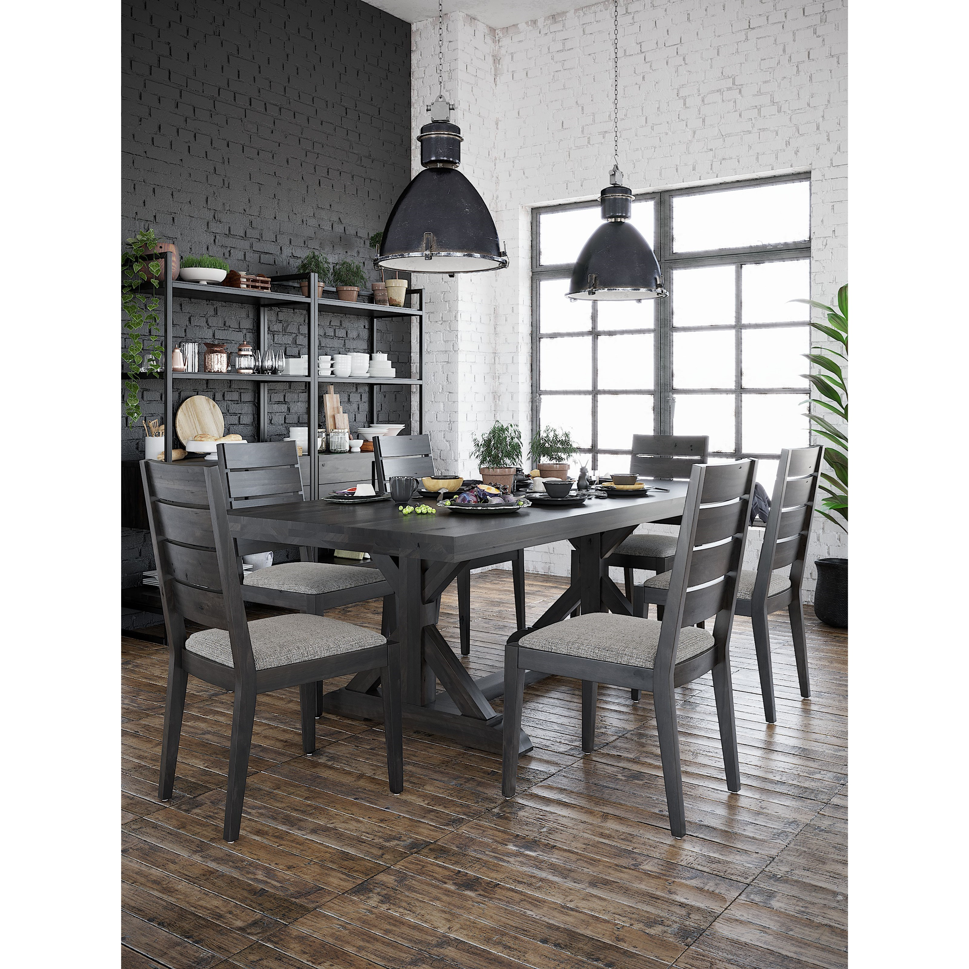 Loft - Custom Dining Dining Room Group by Canadel at Dinette Depot