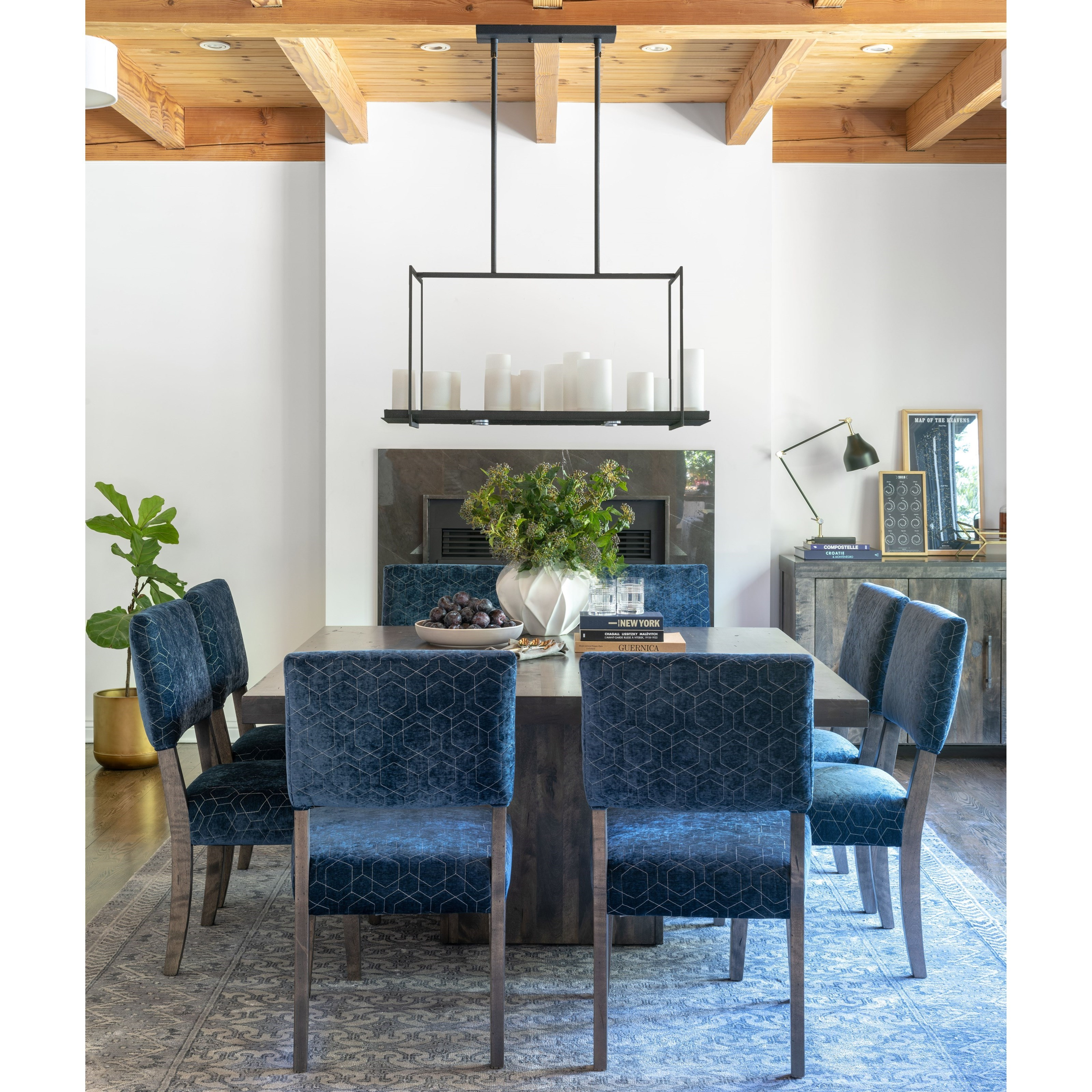 Loft - Custom Dining Dining Room Group by Canadel at Steger's Furniture