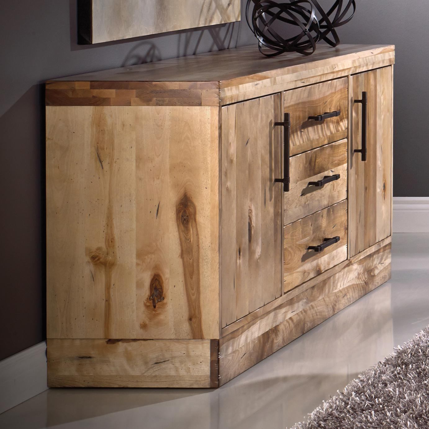Loft - Custom Dining Customizable Buffet by Canadel at Bennett's Furniture and Mattresses