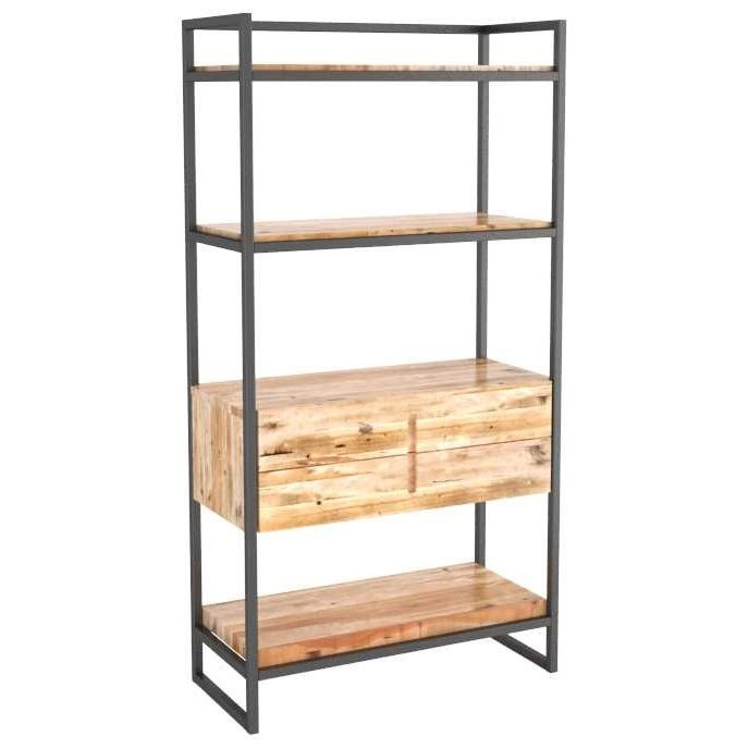 Loft Customizable Buffet/Bookcase by Canadel at Godby Home Furnishings
