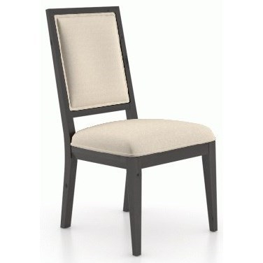 Loft Customizable Upholstered Side Chair by Canadel at Dinette Depot