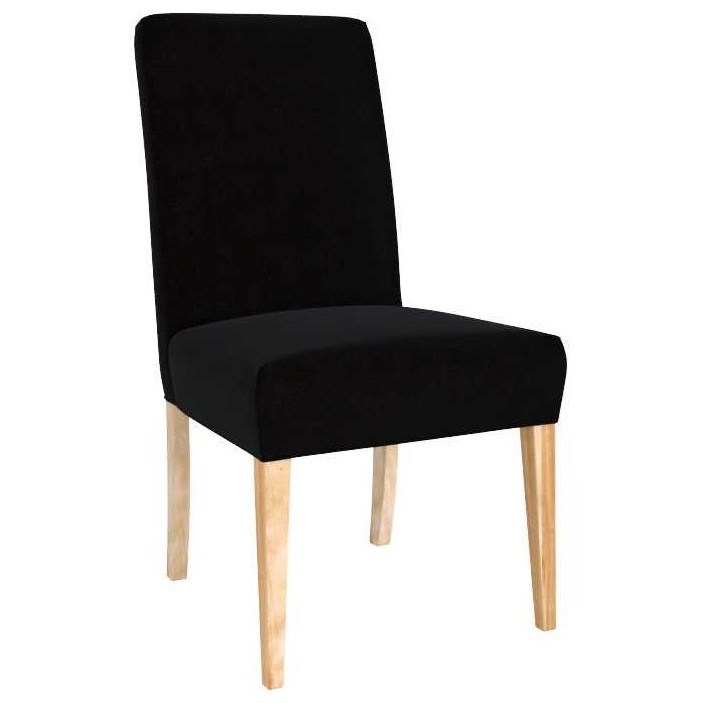 Loft Customizable Upholstered Side Chair by Canadel at Steger's Furniture