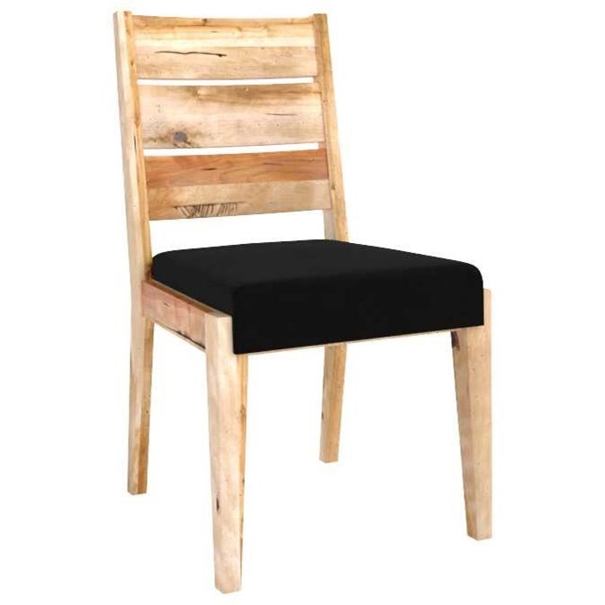 Loft Customizable Side Chair by Canadel at Saugerties Furniture Mart