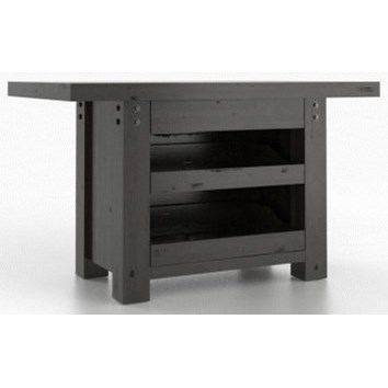 Loft Customizable Island Table by Canadel at Saugerties Furniture Mart