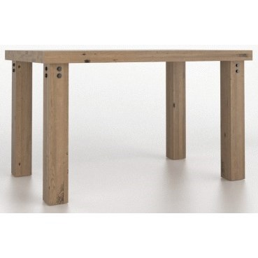 Loft Customizable Rectangular Counter Table by Canadel at Dinette Depot