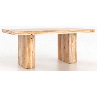 Loft Customizable Rectangular Table by Canadel at Dinette Depot