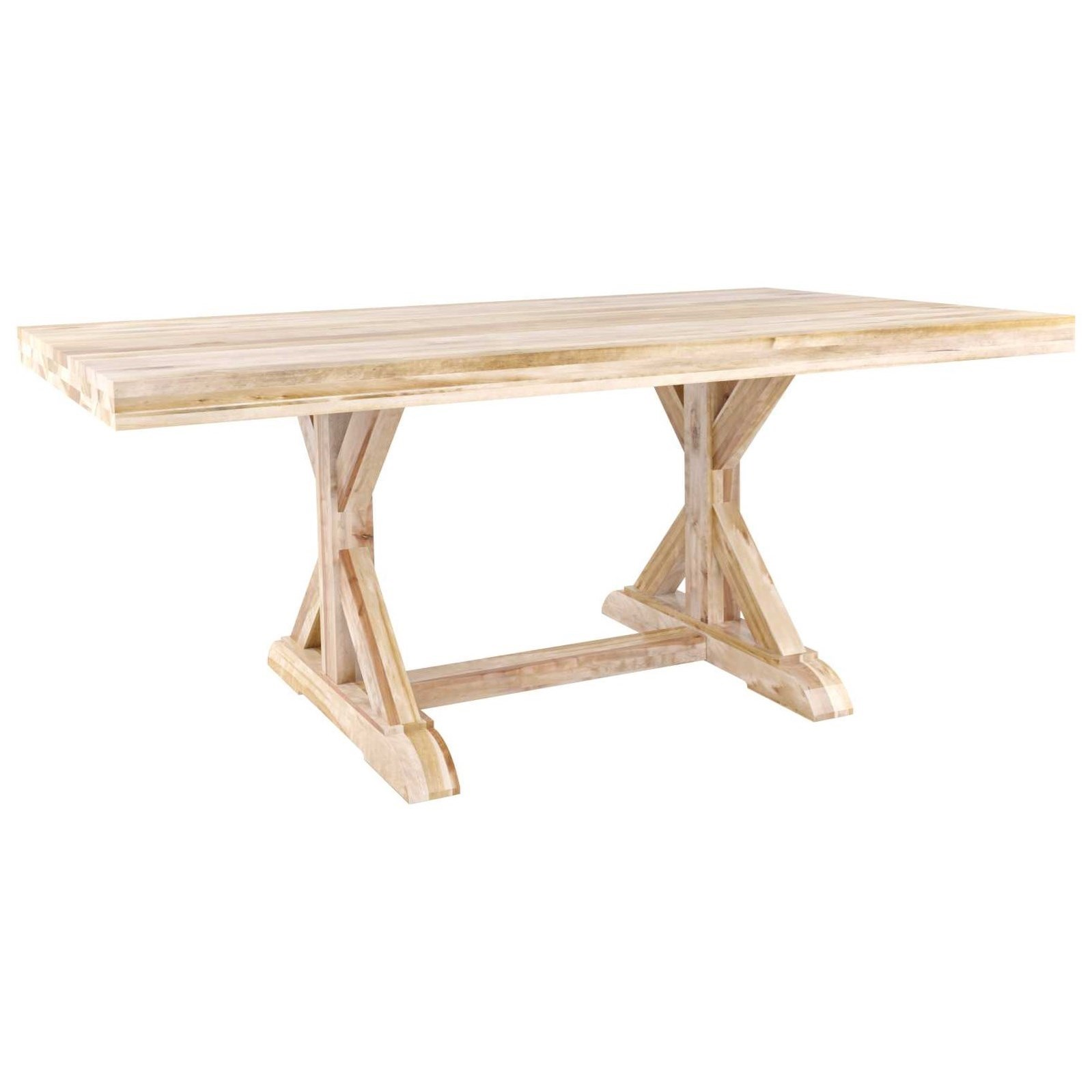Loft Customizable Dining Table by Canadel at Saugerties Furniture Mart