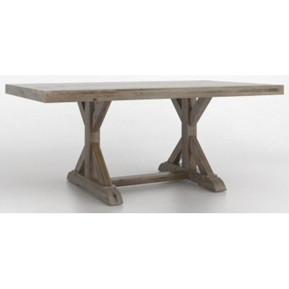 Loft Customizable Dining Table by Canadel at Williams & Kay
