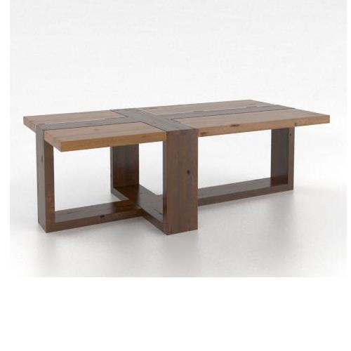 Loft - Living <b>Customizable</b> Rectangular Coffee Table by Canadel at Saugerties Furniture Mart