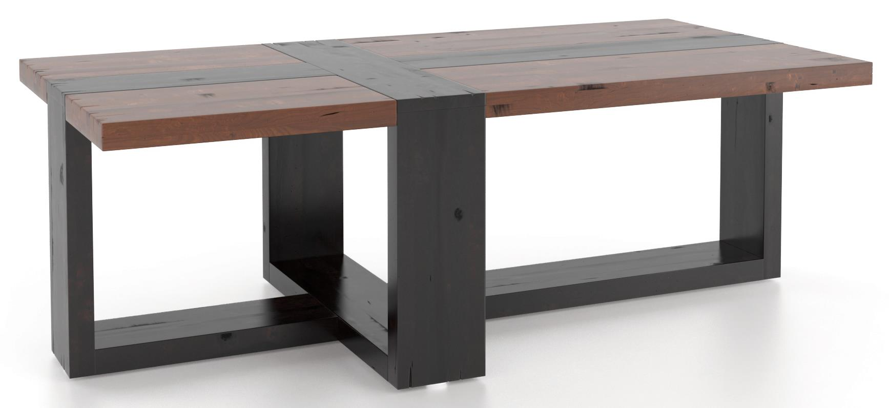 Loft - Living <b>Customizable</b> Rectangular Coffee Table by Canadel at Suburban Furniture